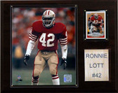 "NFL 12""x15"" Ronnie Lott San Francisco 49ers Player Plaque"