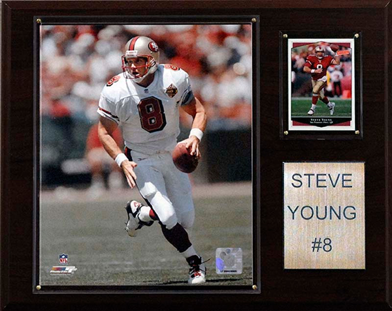 48fcc2b44 ... Steve Young San Francisco 49ers Player Plaque. Image 1. Loading zoom