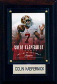 "NFL 4""x6"" Colin Kaepernick San Francisco 49ers Player Plaque"