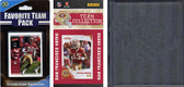 NFL San Francisco 49ers Licensed 2010 Score Team Set and Favorite Player Trading Card Pack Plus Storage Album