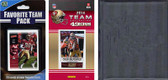 NFL San Francisco 49ers Licensed 2014 Score Team Set and Favorite Player Trading Card Pack Plus Storage Album