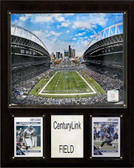 "NFL 12""x15"" CenturyLink Field Stadium Plaque"