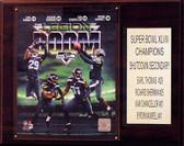 "NFL 12""x15"" Seattle Seahawks Legion of Doom Plaque"