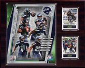 "NFL 12""x15"" Seattle Seahawks 2014 Team Plaque"