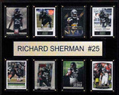 "NFL 12""x15"" Richard Sherman Seattle Seahawks 8-Card Plaque"