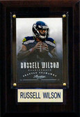 "NFL 4""x6"" Russell Wilson Seattle Seahawks Player Plaque"