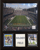 "NFL 12""x15"" Soldier Field Stadium Plaque"