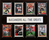 "NFL 12""x15"" Tampa Bay Buccaneers All-Time Greats Plaque"