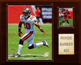 "NFL 12""x15"" Ronde Barber Tampa Bay Buccaneers Player Plaque"