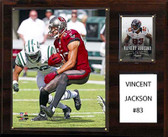"NFL 12""x15"" Vincent Jackson Tampa Bay Buccaneers Player Plaque"