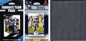 NFL Tennessee Titans Licensed 2012 Score Team Set and Favorite Player Trading Card Pack Plus Storage Album