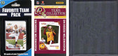NFL Washington Redskins Licensed 2010 Score Team Set and Favorite Player Trading Card Pack Plus Storage Album