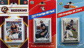 NFL Washington Redskins Licensed 2011 Score Team Set With Twelve Card 2011 Prestige All-Star and Quarterback Set
