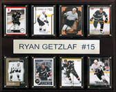 "NHL 12""x15"" Ryan Getzlaf Anaheim Ducks 8-Card Plaque"