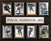 "NHL 12""x15"" Paul Karyia Anaheim Ducks 8-Card Plaque"