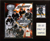 "NHL 12""x15"" Anaheim Ducks 2007 Stanley Cup Champions Plaque"