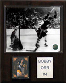 "NHL 12""x15"" Bobby Orr Boston Bruins Player Plaque"