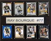 "NHL 12""x15"" Ray Bourque Boston Bruins 8-Card Plaque"