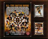 "NHL 12""x15"" Boston Bruins All-Time Greats Photo Plaque"