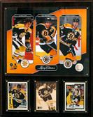 "NHL 12""x15"" Bobby Orr- Ray Bourque- Zdeno Chara Boston Bruins Legacy Collection Plaque"
