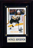 "NHL 4""x6"" Patrice Bergeron Boston Bruins Player Plaque"