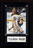 "NHL 4""x6"" Tuuka Rask Boston Bruins Player Plaque"