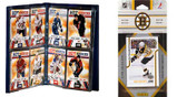 NHL Boston Bruins Licensed 2011 Score Team Set and Storage Album