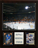 "NHL 12""x15"" Buffalo Memorial Auditorium Arena Plaque"
