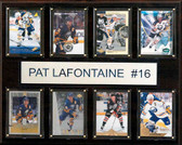 """NHL 12""""x15"""" Pat LaFontaine Buffalo Sabres 8-Card Plaque"""