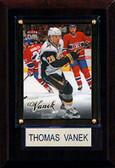 "NHL 4""x6"" Thomas Vanek Buffalo Sabres Player Plaque"
