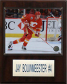 "NHL 12""x15"" Jay Bouwmeester Calgary Flames Player Plaque"
