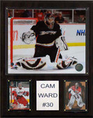 "NHL 12""x15"" Cam Ward Carolina Hurricanes Player Plaque"