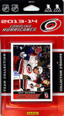 NHL Carolina Hurricanes 2013 Score Team Set