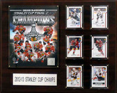 "NHL 16""x20"" Chicago Blackhawks 2012-2013 Stanley Cup Champions Plaque"