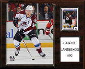 "NHL 12""x15"" Gabriel Landeskog Colorado Avalanche Player Plaque"
