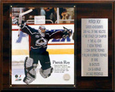 "NHL 12""x15"" Patrick Roy Colorado Avalanche Career Stat Plaque"