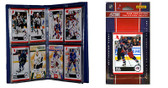 NHL Columbus Blue Jackets Licensed 2010 Score Team Set and Storage Album