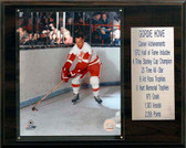 "NHL 12""x15"" Gordie Howe Detroit Red Wings Career Stat Plaque"