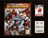 "NHL 12""x15"" Detroit Red Wings 2008 Stanley Cup Champions Plaque"