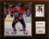 "NHL 12""x15"" Ryan Smith Edmonton Oilers Player Plaque"