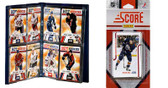 NHL Edmonton Oilers Licensed 2011 Score Team Set and Storage Album