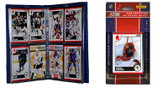 NHL Florida Panthers Licensed 2010 Score Team Set and Storage Album