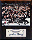 "NHL 12""x15"" Los Angeles Kings 2012 Stanley Cup Celebration Plaque"