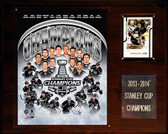 "NHL 12""x15"" Los Angeles Kings 2013-2014 Stanley Cup Champions Plaque"