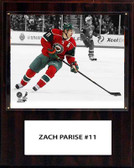 "NHL 12""x15"" Zach Parise Minnesota Wild Player Plaque"