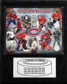 "NHL 12""x15"" Montreal Canadiens 24-Time Stanley Cup Champions Plaque"