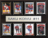 "NHL 12""x15"" Saku Koivu Montreal Canadiens 8-Card Plaque"