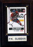 "NHL 4""x6"" P.K. Subban Montreal Canadiens Player Plaque"