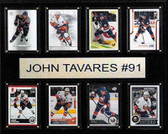 "NHL 12""x15"" John Tavares New York Islanders 8-Card Plaque"