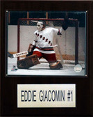 "NHL 12""x15"" Eddie Giacomin New York Rangers Player Plaque"